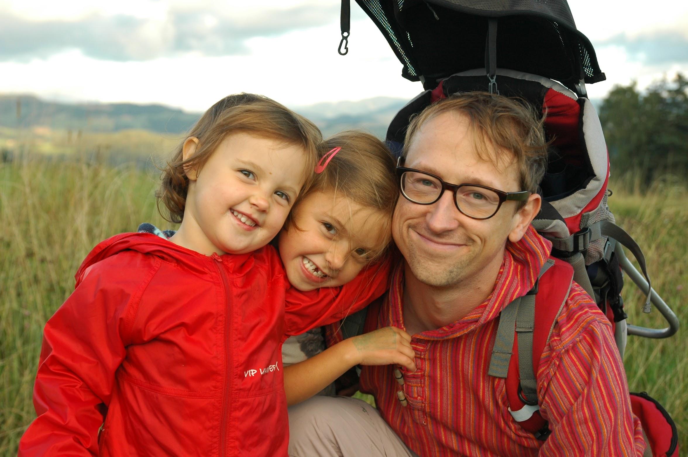 Z córkami przez Gorce…