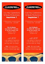 Photo: Flyer and poster design for a gig promoting Empiricism 7 CD. Design by Dennis Remmer.