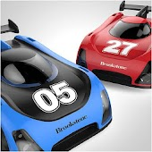 Brookstone® Racer Micro Car