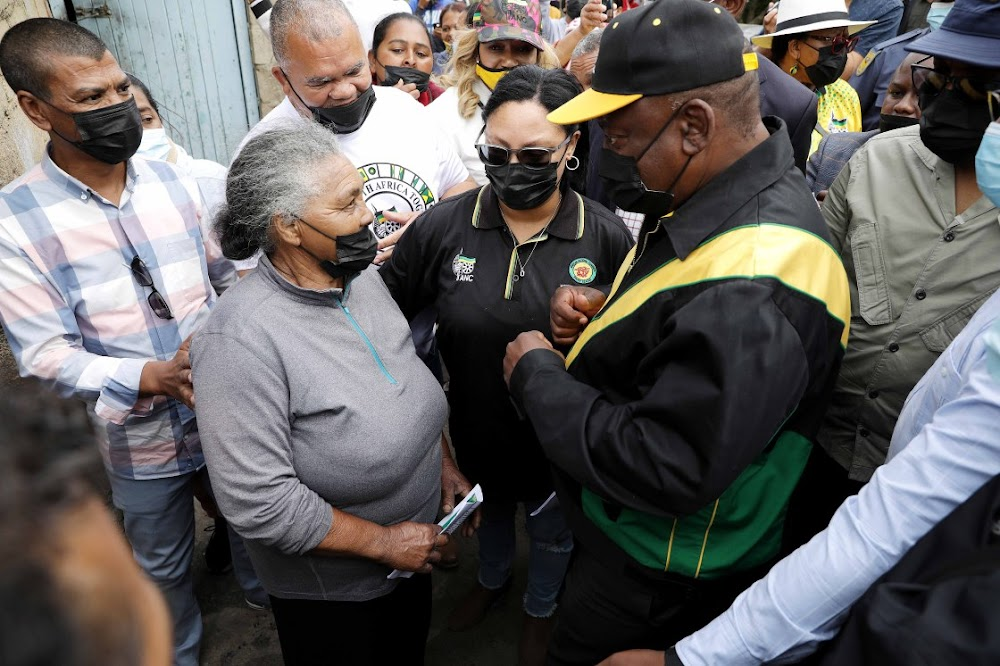 Ramaphosa promises houses, jobs and services ... in just a few weeks