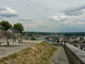 Photo: La citadelle de Namur