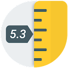 Ruler App – Measure length in inches + centimeters icon