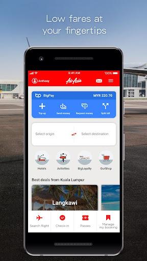 AirAsia 5.0.8 screenshots 1