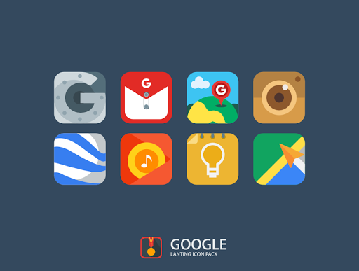 Lanting Icon Pack app for Android screenshot