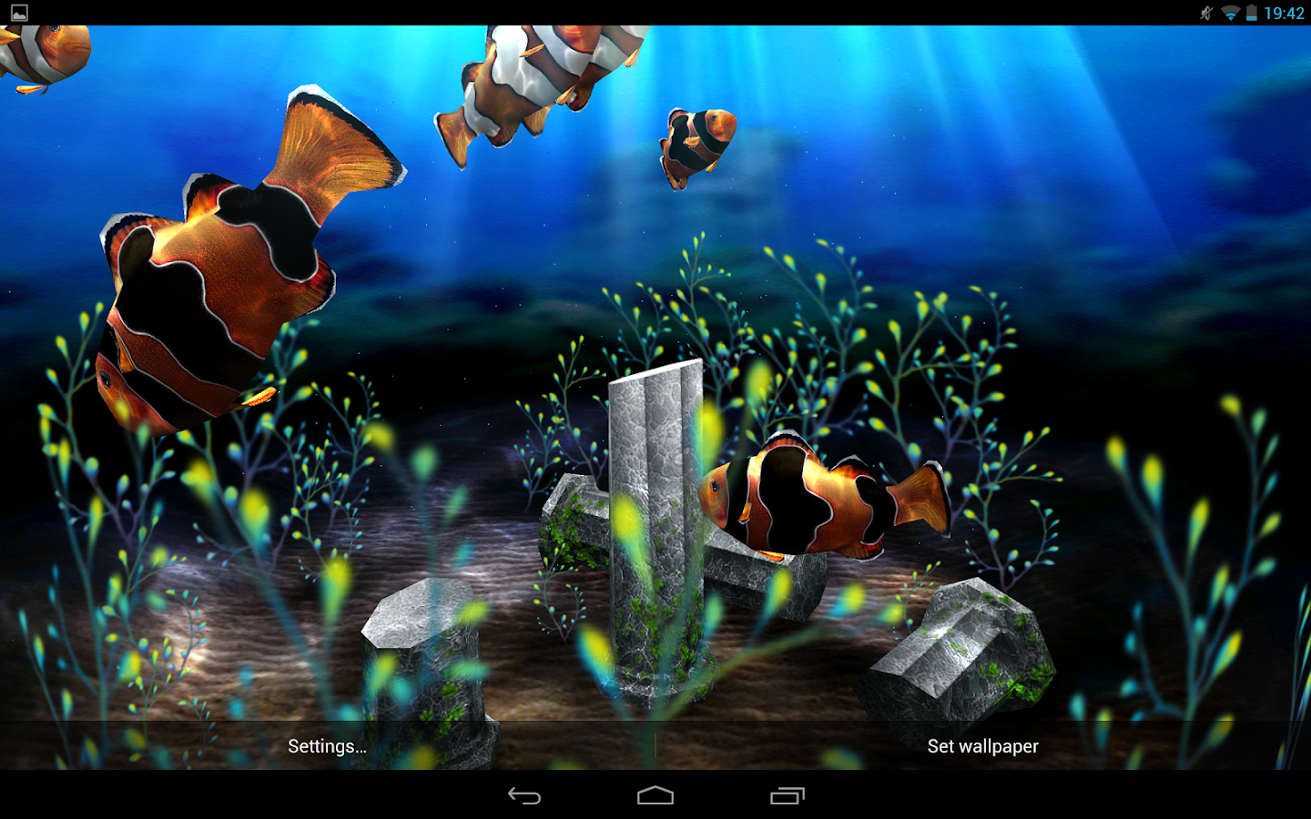 My 3D Fish II- screenshot