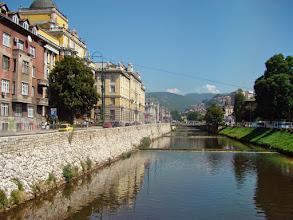 Photo: Sarajevo - rzeka Miljaczka - BiH
