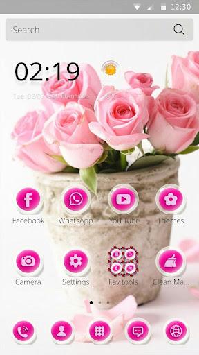 핑크 장미테마 Pink Rose