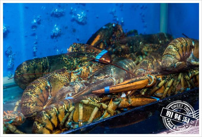 銅花精緻涮涮鍋現撈活龍蝦