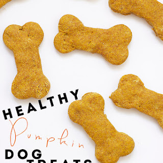Healthy Pumpkin Dog Treats