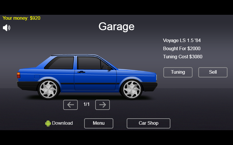 Tuning Voyage Quadrado- screenshot