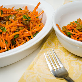 Sweet and Spicy Carrot Salad.