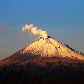 Greatly Volcano by Alfredo Garciaferro Macchia - Landscapes Mountains & Hills