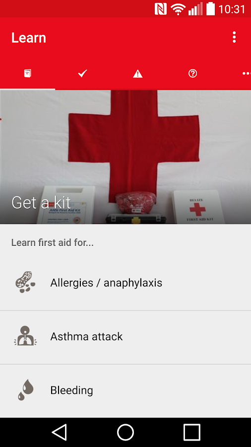 First Aid-Australian Red Cross- screenshot