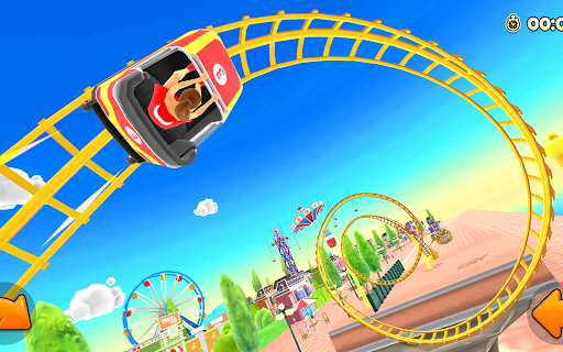 Thrill Rush Theme Park apkslow screenshots 13