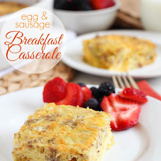 Green Chili Egg Sausage Casserole Recipes
