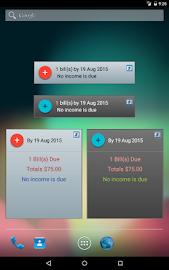 MoBill Budget and Reminder Screenshot 17