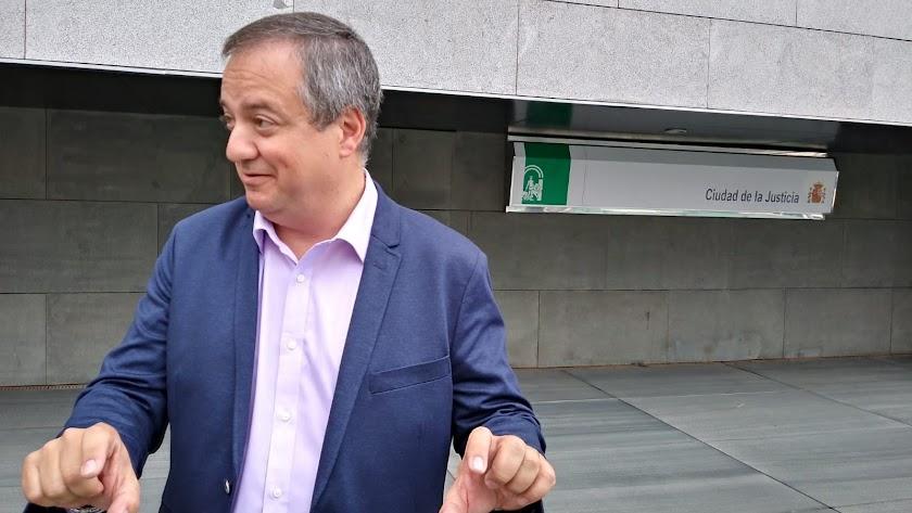 José Luis Delgado, delegado de Justicia.