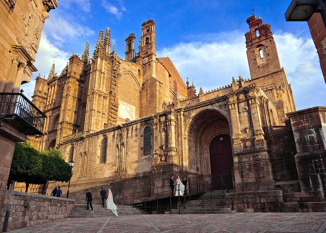 Plasencia, ciudad de la provincia de Cáceres en Extremadura. Foto: Manuel Vidal.