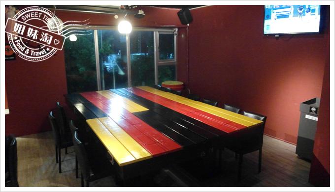 麥瑟德式手工啤酒餐廳大桌