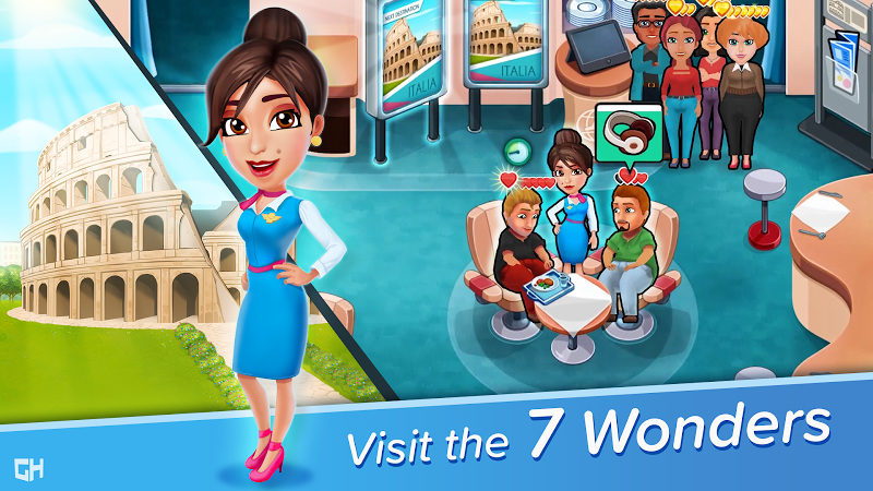 Amber's Airline - 7 Wonders ✈️ APK Cracked Free Download