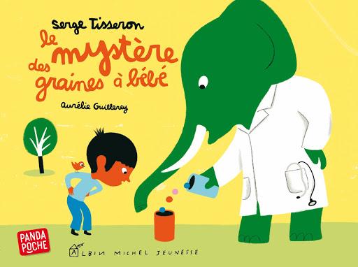Le mystère des graines à bébé - Sélection de livres jeunesse d'Agnès, du blog QUATRE ENFANTS