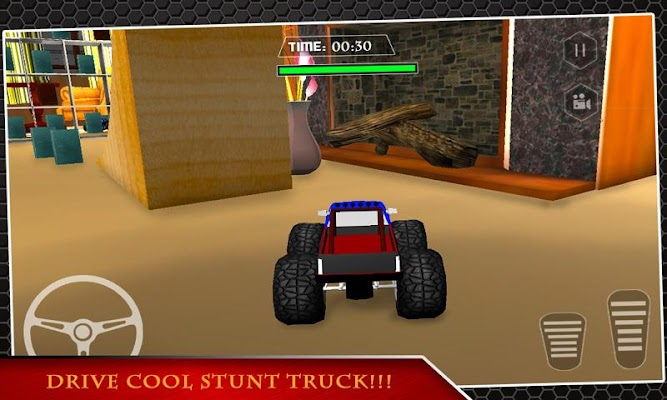 RC Monster Truck Extreme Stunt - screenshot