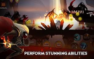 Stickman Legends: Shadow War - Ninja Warriors screenshot for Android