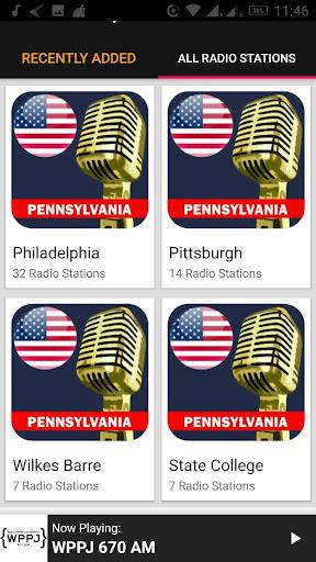 Pennsylvania Radio Stations - USA 2.0.1 screenshots 3