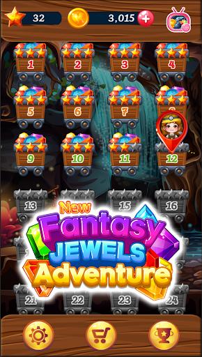 New Fantasy Jewels Adventure: Puzzle Land 1.0.3 screenshots 1