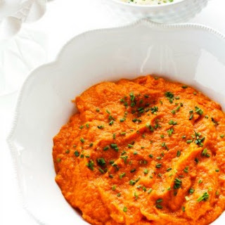 Carrot Puree with Ginger - a make-ahead side dish!