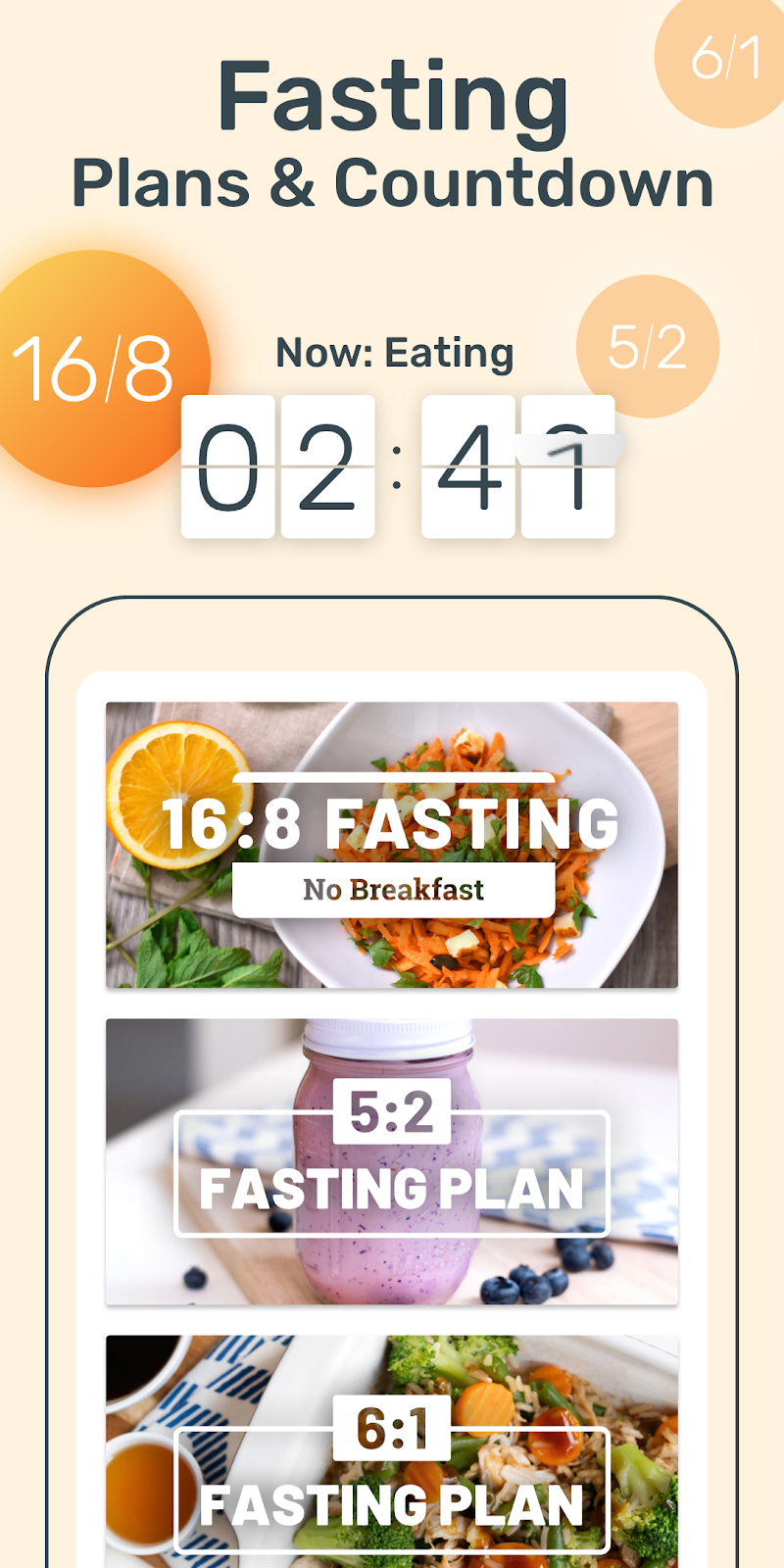 YAZIO Calorie Counter, Nutrition Diary & Diet Plan Screenshot 2