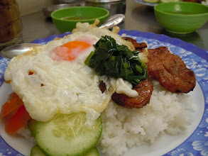 Photo: Pork chop and egg on rice