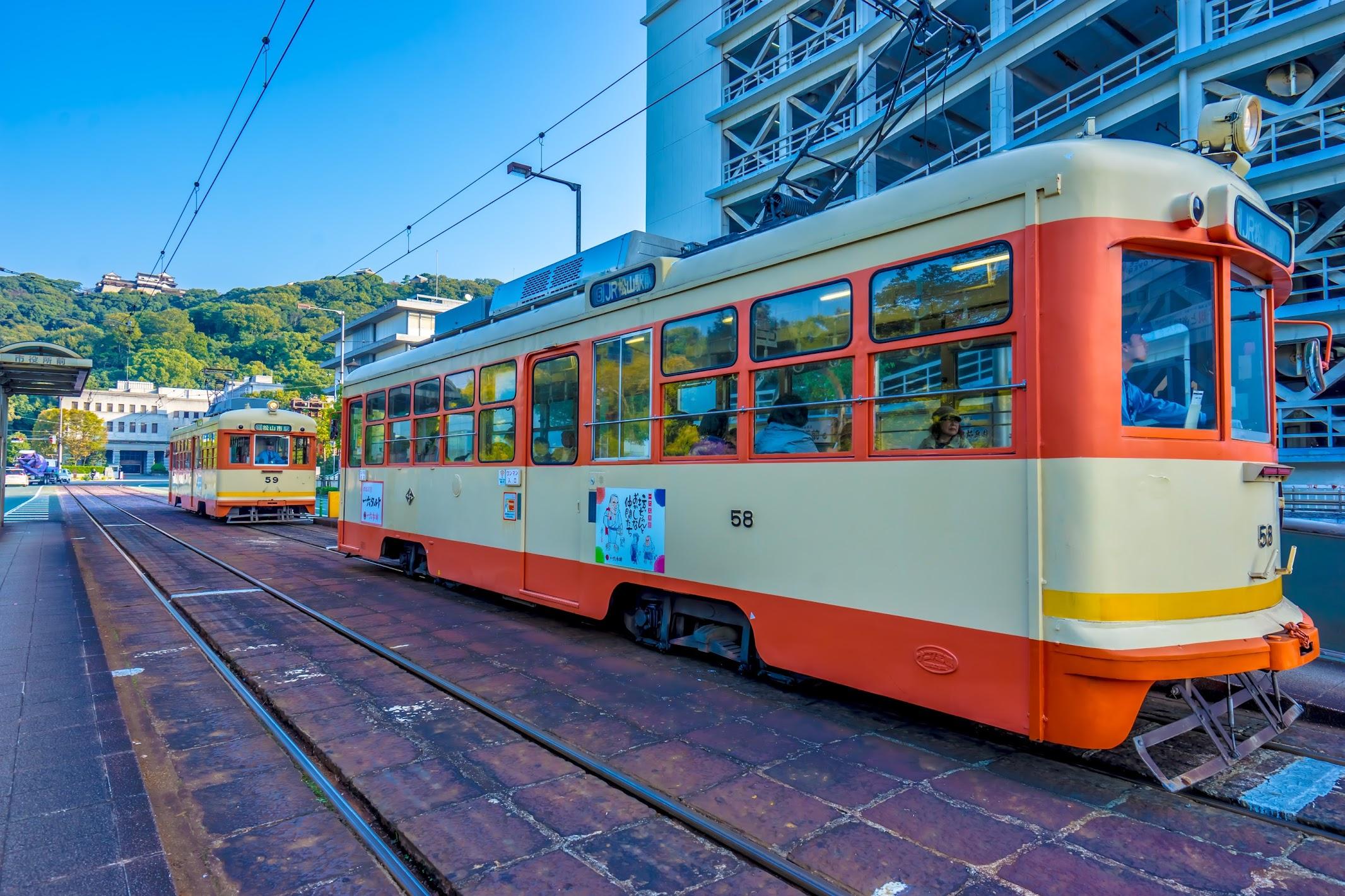 松山 市内電車1