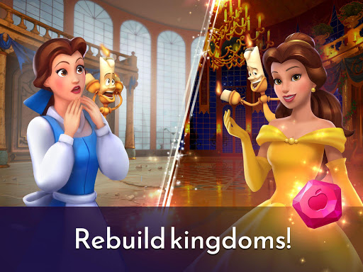 Disney Princess Majestic Quest: Match 3 & Decorate 1.7.1a Screenshots 13