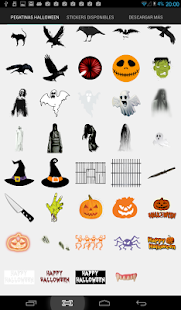 Halloween Photo stickers- screenshot thumbnail