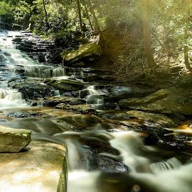 Minnehaha Falls on Lake Rabun, GA, USA by Nauman Khan - Landscapes Waterscapes ( mountain, falls, rabun, minnehaha, water, lake )
