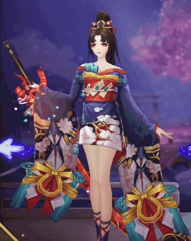 妖刀姫スキン3D