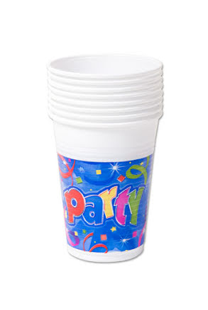 Party Mugg 8st