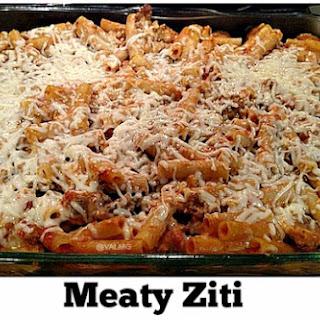 Meaty Ziti Recipe
