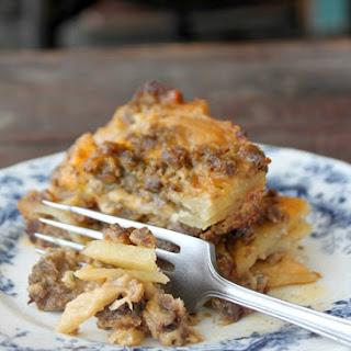 Meat & Potato Casserole.