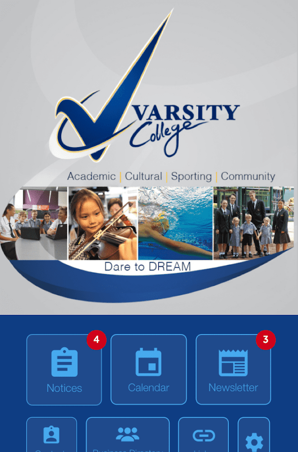 Varsity- screenshot