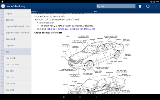 Screenshot for Learner's Dictionary - English in Hong Kong Play Store