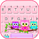 Lovely Owls Keyboard Theme APK