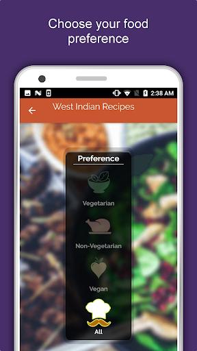 west indian food recipes offline: gujarati marathi screenshot 1