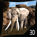 African Elephant 3d Lwp Lite icon