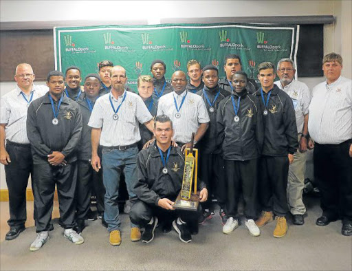 CHAMPS: The Eastern Cape LSEN team won the 2017 LSEN Cricket Week, held in East London Picture: CAROLINE KRAUSE