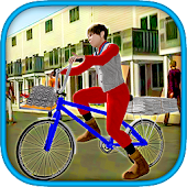 News paper Delivery Boy Simulator