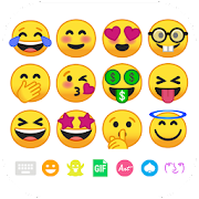 App Icon for New Emoji for Android 8 App in United States Play Store