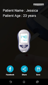 Blood Sugar Checker Prank screenshot 4