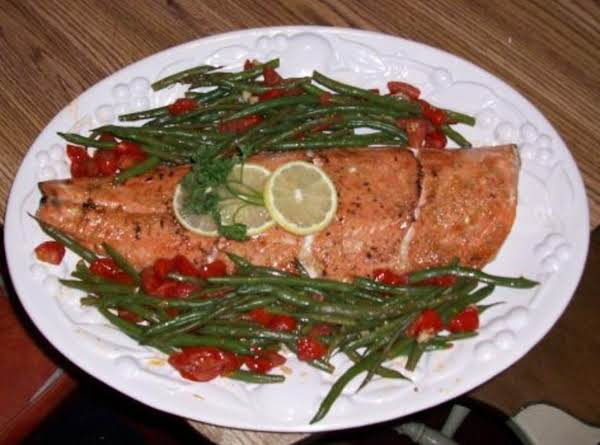 Broiled Salmon With Citrus Marinade